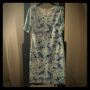 Antonio Melani Elise Dress Mint Maven lapis Size 2